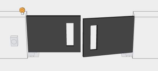 درب اتوماتیک زیرسطحی