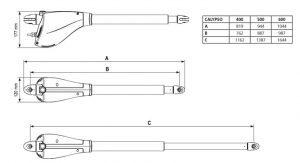 مشخصات فنی جک برقی کالیپسو